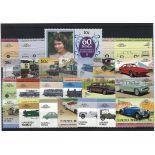 Collection de timbres Nanumea oblitérés