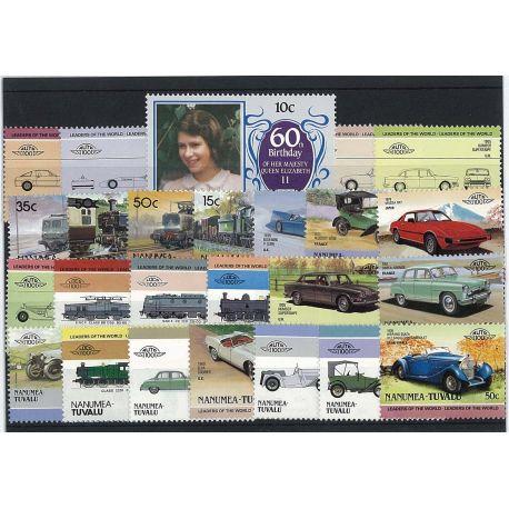 Nanumea - 25 verschiedene Briefmarken