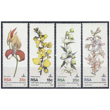 Collection Timbres Flore Timbres orchidees Afrique du sud N° 495/498 neufs à partir de 5,00 €