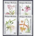 Neue Briefmarken Orchideen Antigua Nr. 1698/1701