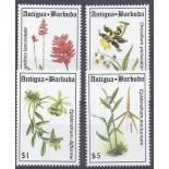 Neue Briefmarken Orchideen Antigua Nr. 1714/1717