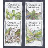 Neue Briefmarken Orchideen Antigua Nr. 1219/1222