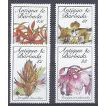 Briefmarken Orchideen Antigua Nr. 1257/1260 neun