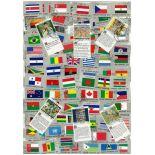 Collezione di francobolli Nazioni Unite usati