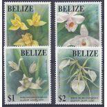 Neue Briefmarken Orchideen Belize Nr. 996/999