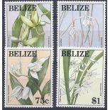 Neue Briefmarken Orchideen Belize Nr. 1018/1021