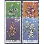 Neue Briefmarken Orchideen Malawi Nr. 247/250