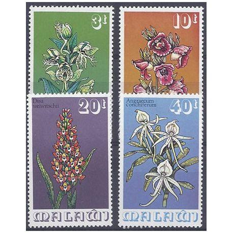 Collection Timbres Flore Timbres orchidees Malawi N° 247/250 neufs à partir de 4,00 €