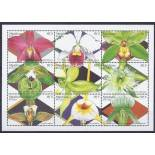 Neue Briefmarken Orchideen die Malediven Nr. 2076/84