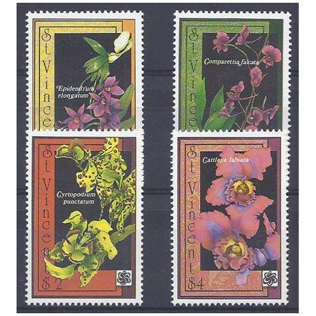 Collection Timbres Flore Timbres orchidees St Vincent N° 1230E/H neufs à partir de 5,00 €