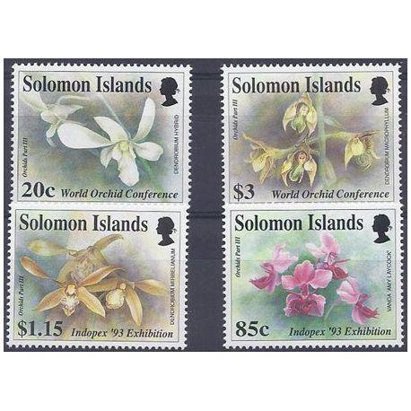 Collection Timbres Flore Timbres orchidees Salomon N° 782/785 neufs à partir de 4,00 €