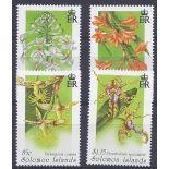 Neue Briefmarken Orchideen Salomon Nr. 848/851