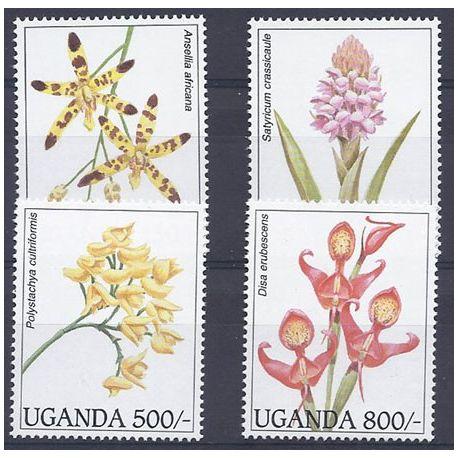 Collection Timbres Flore Timbres orchidees Ouganda N° 1339/1342 neufs à partir de 4,00 €