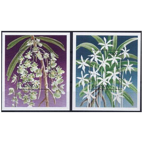 Collection Timbres Flore Timbres orchidees Ouganda blocs N° 235/36 neufs à partir de 9,00 €