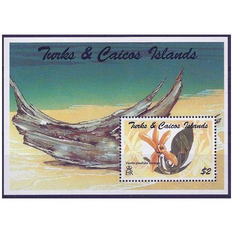 Collection Timbres Flore Timbres orchidees Turk et Caiques bloc N° 149 neuf à partir de 4,00 €