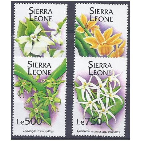 Collection Timbres Flore Timbres orchidees Sierra Leone N° 1851/54 neufs à partir de 5,00 €