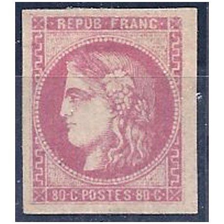 Timbre France N° 49 neuf avec charnière