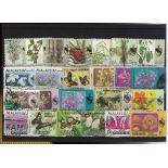 Negri-Sammlung gestempelter Briefmarken