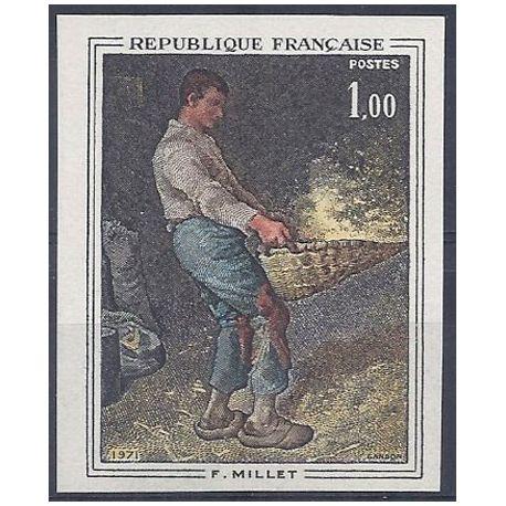 Timbre France N° 1672 non-dentelé neuf