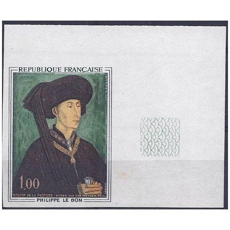 Timbre France N° 1587 non-dentelé - bdf
