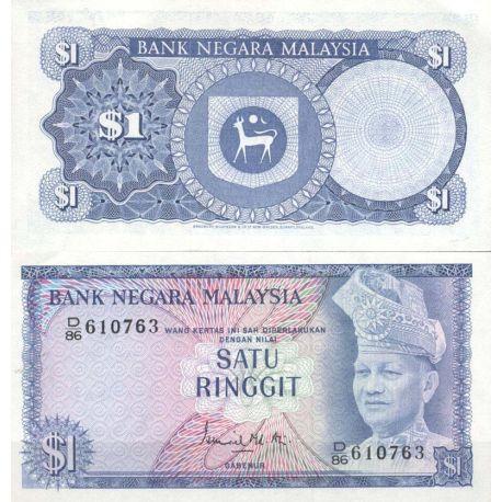 Malaisie - Pk N° 7 - Billet de 1 Ringgit