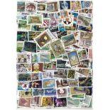 Sammlung gestempelter Briefmarken Nepal