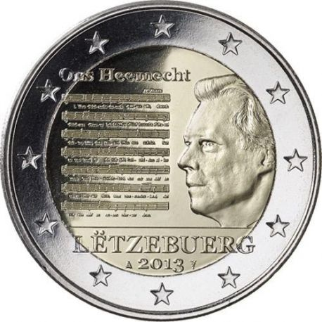 Luxembourg - 2 Euro commémorative - 2013