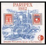 Frankreich Block CNEP N ° 3A Paripex II - Postfrisch