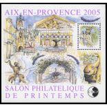 Francia CNEP Bloque No. 43 en Aix en Provence - nuevos sin charnela
