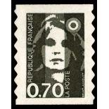 Frankreich selbstklebendes N° 6 - Postfrisch