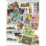 Sammlung gestempelter Briefmarken Niger