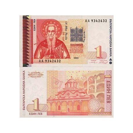 Bulgarie - Pk N° 114 - Billet de 1 Lev