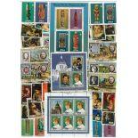 Collection de timbres Niue oblitérés