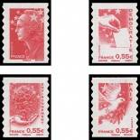 France Timbres N° 4197/200 - Neufs