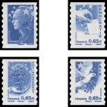 French stamps N° 4201/04 - Neufs