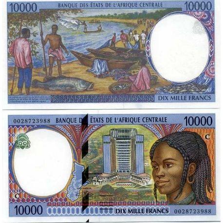 Afrique Centrale Congo Repu - Pk N° 105 - Billet de 10000 Francs