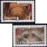 La Francia N° autoadesivo 456a e 459a - nuovo