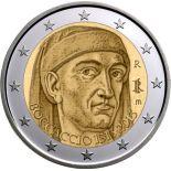 Italia - 2 euro commemorativa - 2013 Boccaccio