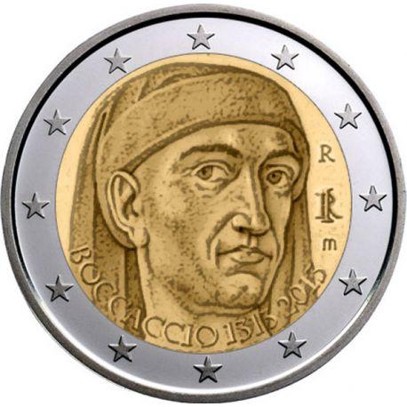 Italie - 2 Euro commémorative - 2013 Boccaccio