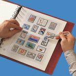 48 Feuilles Safe pour timbres France 1970-1977