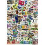 Neuseeland Sammlung Briefmarken gestempelt