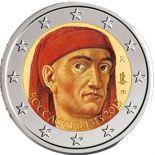 Italie - 2 Euro couleur commémorative - 2013 Boccaccio