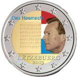 Luxembourg - 2 Euro couleur commémorative - 2013