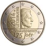 Luxemburg - 2 Euro Gedächtnis- - 2014