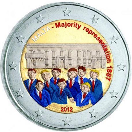 Malte - 2 Euro commémorative - 2012 en couleur