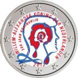 Paesi Bassi - 2 euro commemorativa colore 2013