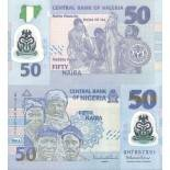 Banknote collection Nigeria Pick number 40B - 50 Naira 2013