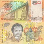 Banconote Papua Nuova Guinea Pick numero 11 - 50 Kina 1981
