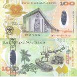Bello banconote Papua Nuova Guinea Pick numero 37 - 100 Kina 2008