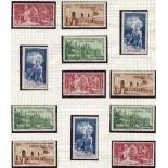 Große Serie 1942 PEIQI 83 Werte